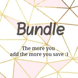 Do not be afraid to add items to a bundle ❤